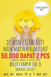 DISKON CILOBEAUTY MASK (masker wajah homemade)