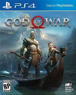 PS4 God of War for Rental