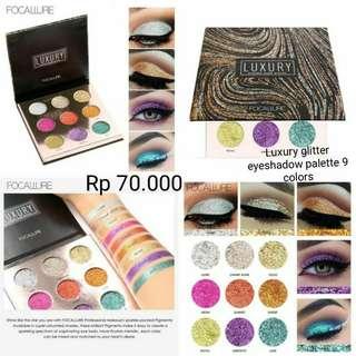(PO) Luxury Eyeshadow Glitter Palette 9 colors