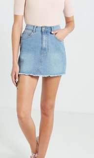 Cotton on mini Denim skirt