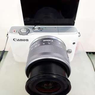 Kamera Canon Eos M10 Mirrorles (Kredit MURAH)