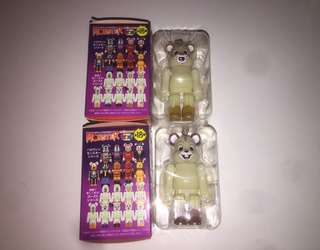 迪士尼 Disney Bearbrick Be@rbrick Halloween Chip n Dale