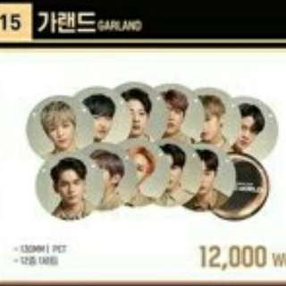 WANNA ONE OFFICIAL CONCERT GOODS IN SEOUL [LOOSE ITEM-GARLAND]