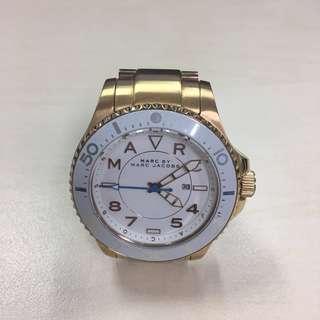Marc Jacobs 玫瑰金鋼帶手錶