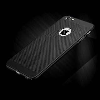 iPhone 7/8 Cellphone Case (Hard Case) | Black Cooling Case