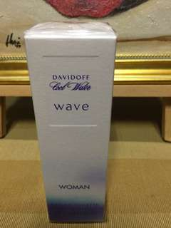 Davidoff Cool Water Wave Woman Authentic vintage/old