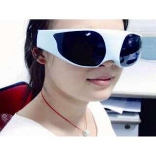 Jual Alat Senam Mata Kacamata Pijat Refleksi Eye Care Massager Blueidea