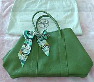 Garden party hermes bag