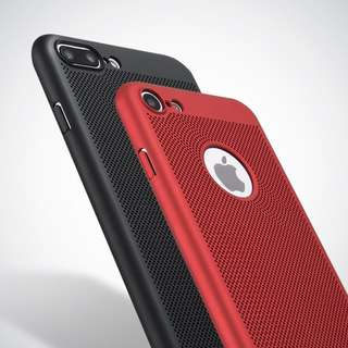 iPhone 6/6s Cellphone Case (Hard Case) | Red Cooling Case