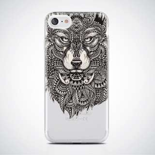 iPhone 6/6s Cellphone Case (Soft TPU) | Wolf