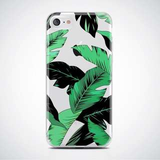 iPhone 6/6s Cellphone Case (Soft TPU) | Banana Leaves