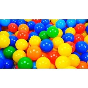 Colourful ball (100pcs)