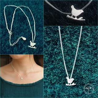 Chirper 925 Silver Necklace