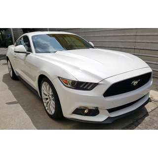 FORD MUSTANG 2.3 ECOBOOST PROSHAKER WHITE COLOUR (A) RAYA OFFER UNREG 2017