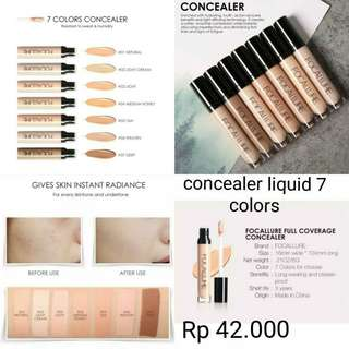 (PO) Liquid Concealer Focallure 7 shades
