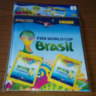 Panini Brazil World Cup 2014 Sticker Album