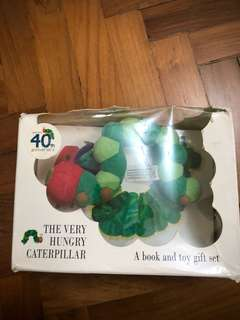 Hungry Little Caterpillar Book with toy