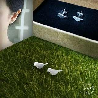 Chirper 925 Silver Earrings