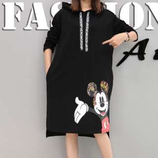 Mickey Mouse Hoody Dress