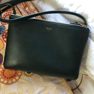 S18 Celine Trio Small in Calfskin Liege