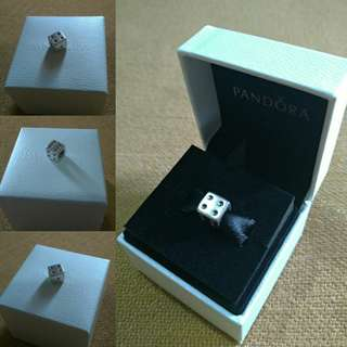 Authentic/ Pre-Loved PANDORA Dice Charm