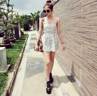 🚚 Floral romper dress