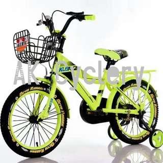 🚚 Kid's Bicycle KUBAGE Super Training Wheels Rear Rack Mudguards