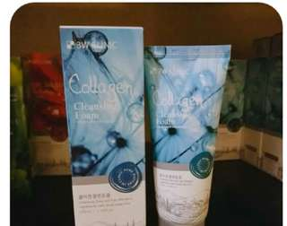 COLLAGEN CLEANSING FOAM&ROSE WATER CLEANSING FOAM
