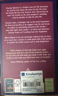 """Brand New Mitch Albom """"For One More Day"""""""