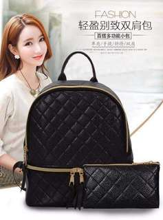 2 in 1 Black Bag