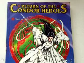 Return of condor heroes title 1 comics