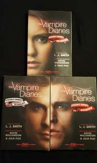 The Vampire Diaries, Stefan's Diaries by L.J Smith (3 books)