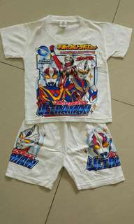 [Preloved] Setelan Anak Laki Boy's Sets Shirt Pants 4-5y