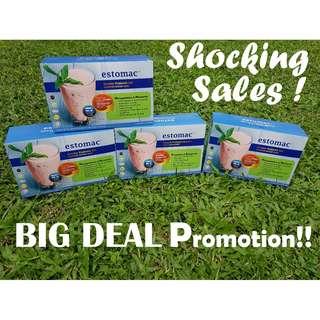 BIG DEAL !!! Estomac Natural Probiotic Booster (15 Sachets/Serving) X 4 (Bundle)(Halal)