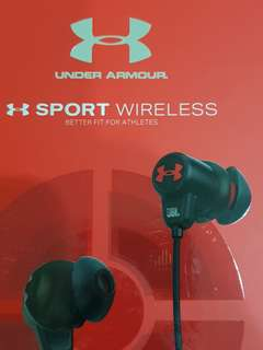 JBL Under Armour sport wireless earphone