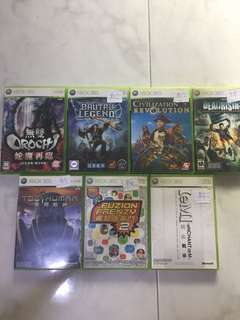 Xbox 360 Games latest update bal left start from $5