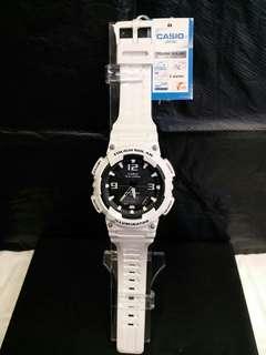 """AQ-S810WC-7A卡西歐品牌手錶""""Casio""""日本機芯一年保養"""