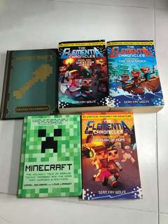 Minecraft hard book