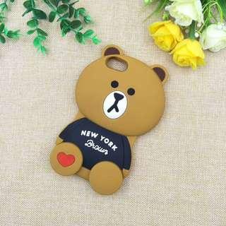 Bear 3D Rubber Phone Casing
