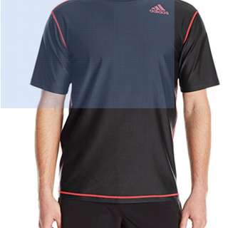 🚚 Adidas Men's UPF 30+ Short Sleeve Swim Tee, Small.