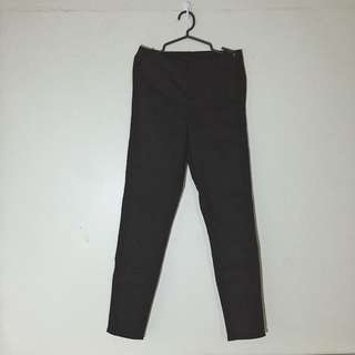 H&M Black High-waisted Pants