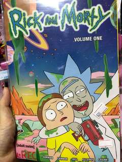 Rick and Morty Volume one Graphic Novel comics