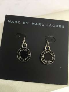 Marc By Marc Jacobs 銀邊圓牌Earrings