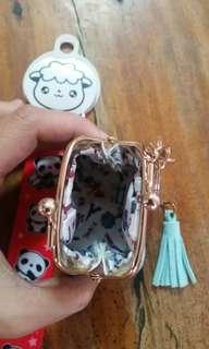 Mini purse and key holder