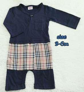 Baju Melayu Baby Bersampin 3-6Months