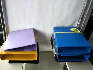 Office Files (Black/Blue ) for sale (12 pcs) @$1 Each @A4/3