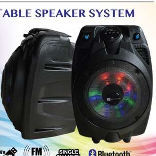 PA SYSTEM 6 INCHES WITH MICROPHONE