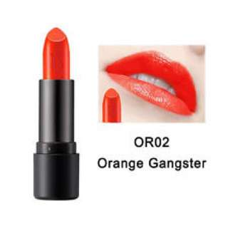 The Face Shop Moisture Touch Lipstick OR02 - Orange Gangster #PayDay30