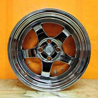 SPORT RIM 15inch S1 WORK MEISTER FULL CHROME