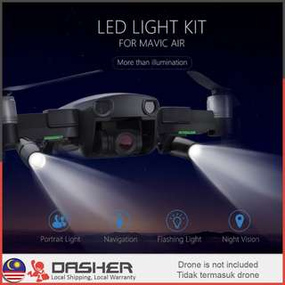 PGYTECH DJI Mavic Air LED Light Kit for Night Flight Lighting